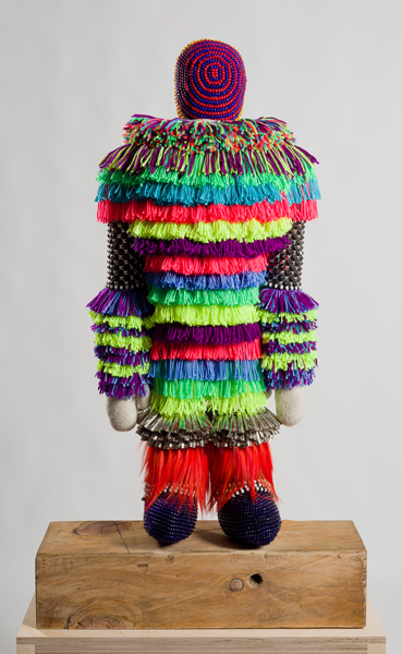 """The Clown"" by Jeffrey Gibson (Marc Straus Gallery / provided)"