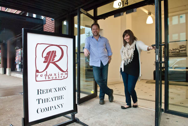 Tyler and Erin Woods founded Reduxion Theatre Company in 2007. (<em>Gazette</em> / file)