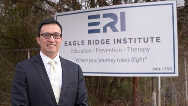 August Rivera, Executive Director at Eagle Ridge Institute, Monday, Feb. 27, 2017.  (Garett Fisbeck)