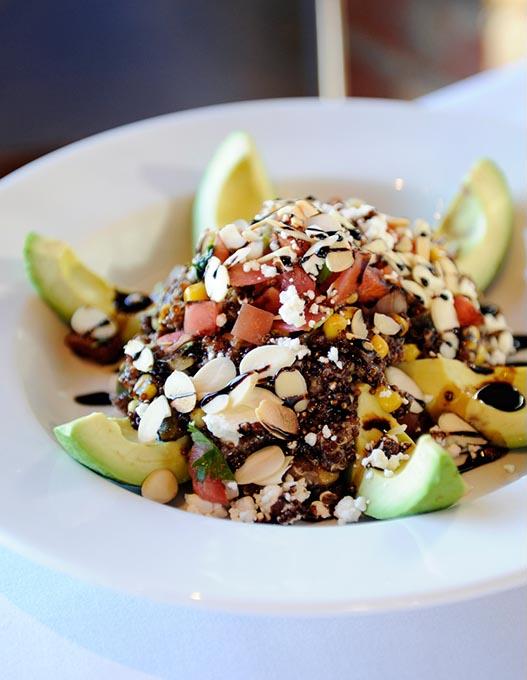 Quinoa and avocado salad at Cheever's Cafe (Garett Fisbeck / file)