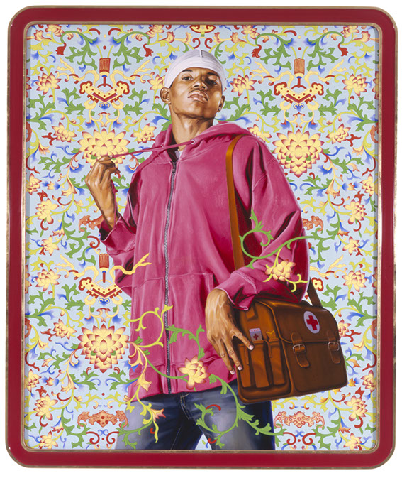 """""""Support the Rural Population and Serve 500 Million Peasants"""" (Kehinde Wilsey / Oklahoma City Museum of Art / provided)"""