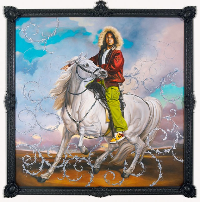 """""""Colonel Platoff on His Charger"""" (Kehinde Wiley / Oklahoma City Museum of Art / provided)"""