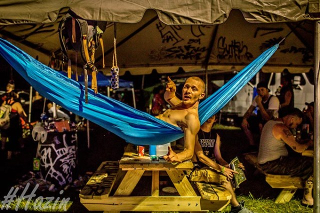 "Up to 8,000 people are expected to attend this year's Gathering of the Juggalos each day of its four-day stay in Oklahoma. (Dustin ""Hazin"" Lane / Cherry Bomb / provided)"