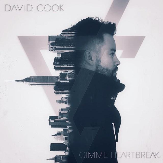 "David Cook's new single ""Gimme Heartbreak."" (Bobby Quillard / provided)"