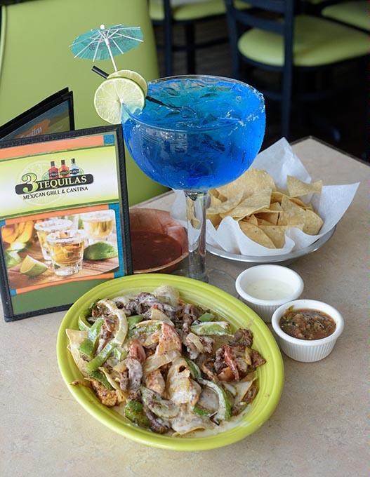 Super Fajita Nachos at 3 Tequilas Mexican Grill & Cantina in Edmond (Garett Fisbeck / file)