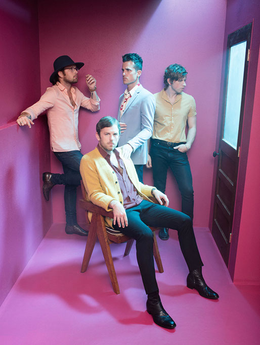 Kings of Leon plays at Chesapeake Energy Arena with Dawes on Oct.4. (RCA / provided)