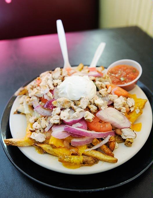 White Trash Nachos at Irma's Burger Shack (Garett Fisbeck / file)