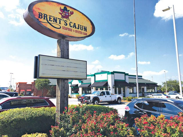 The entrance to Brent's Cajun is not marked  with signage. | Photo Jacob Threadgill