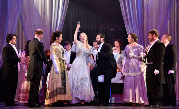 Painted Sky Opera's first season ended with a performance of <em>La traviata</em>. (Wendy Mutz / provided)