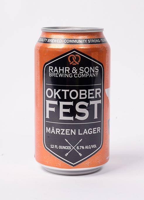 Rahr & Sons Brewing Company Oktoberfest Märzen Lager (Garett Fisbeck)