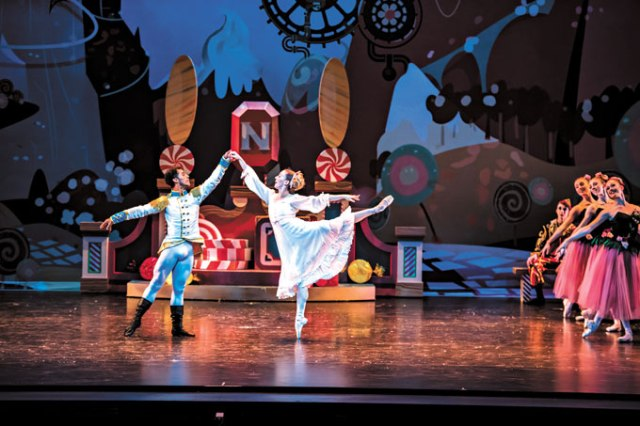 More than 160 dancers and 200 total personnel members are involved with this year's OKC Ballet production of <em>The Nutcracker</em>. (Diana Bittle / provided)