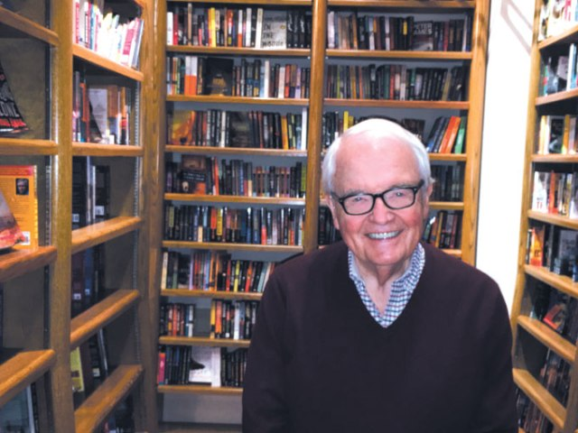 Jim Tolbert founded Full Circle Bookstore in 1977. (Jacob Threadgill)