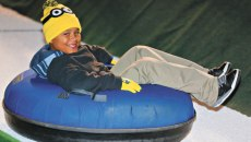 Unlimited snow tubing is available in two-hour sessions for $13. | Photo provided