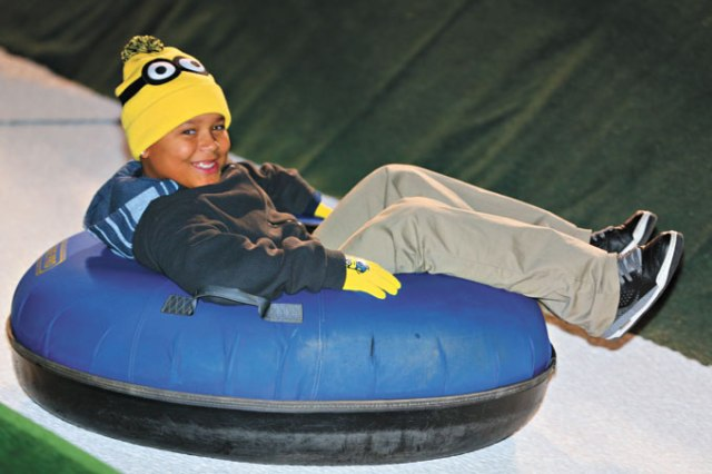 Unlimited snow tubing is available in two-hour sessions for $13. (Provided)