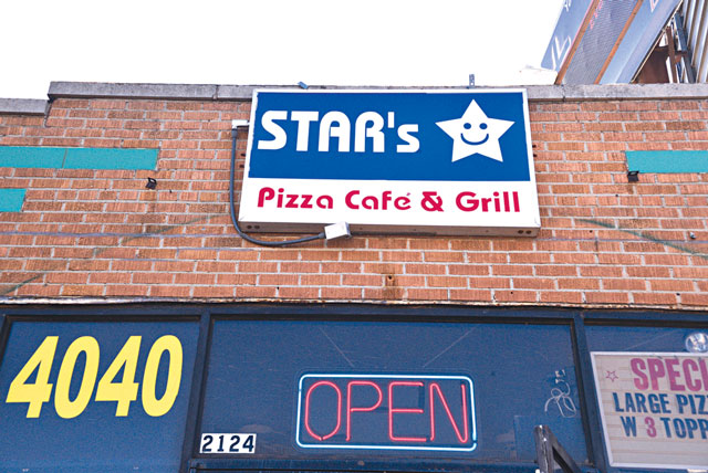 Star's Pizza Cafe & Grill (Jacob Threadgill)