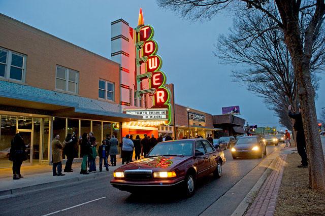 Tower Theatre has quickly established itself as a go-to concert and event destination in OKC. (Photo <em>Gazette</em> / file)