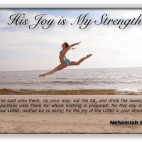 His Joy is My Strength