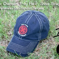 Pray Hard – Shoot Straight Cap Available Now!
