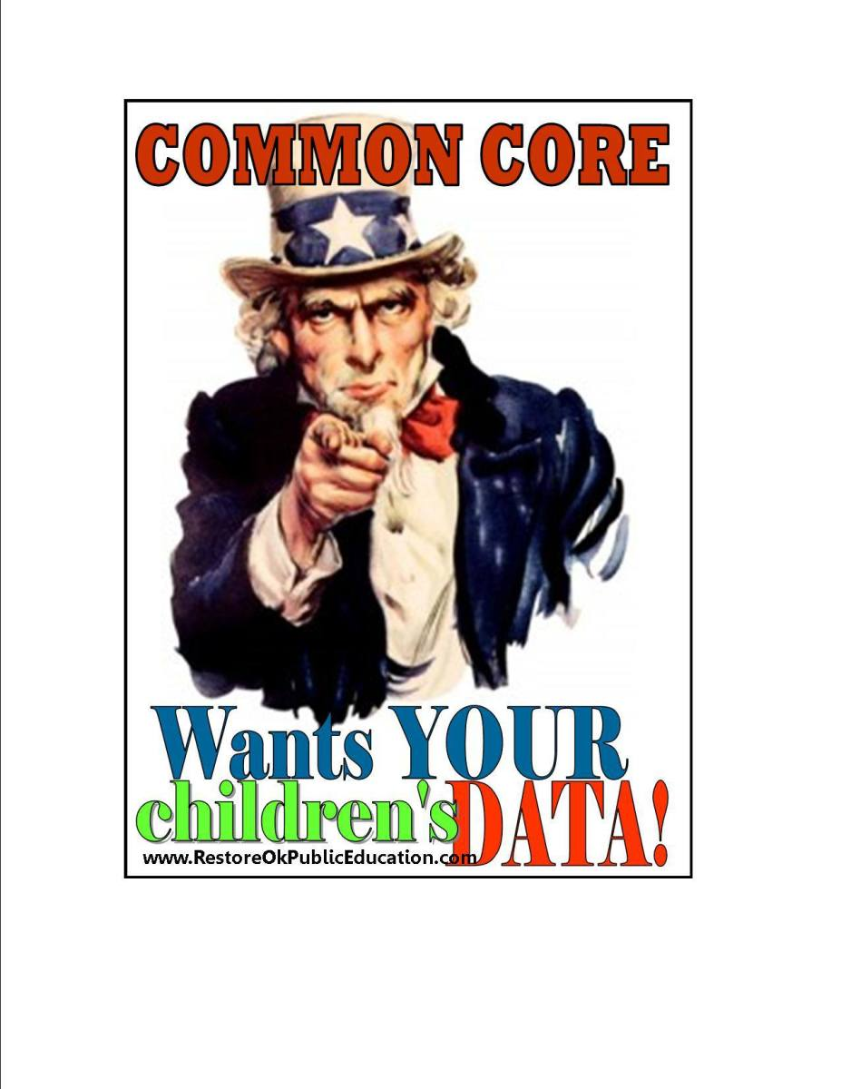 Common Core Wants Your Children's Data
