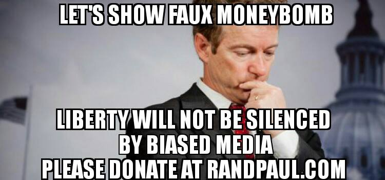 Let's Show Faux News Moneybomb Takes Off