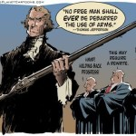 Cartoon on Kill Constitutional Carry Bill