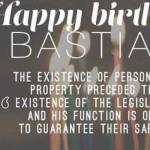 Happy Birthday Bastiat