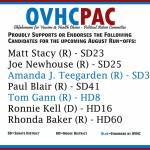OVHCPAC endorsements for run-off