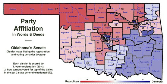 Muskogee Politico Draws New Party Affiliation Map