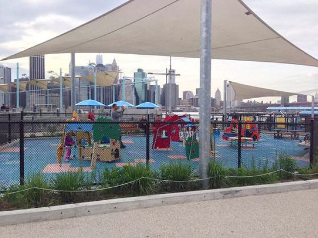 ニューヨーク Brooklyn Bridge Park ブルックリン・ブリッジ・パーク