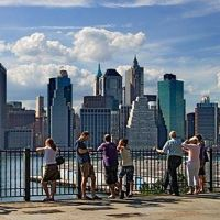 ニューヨーク Brooklyn Bridge Park ブルックリン・ブリッジ・パーク  プロムナード
