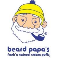 ニューヨークのシュークリーム屋「Beard Papa's」 ロゴ