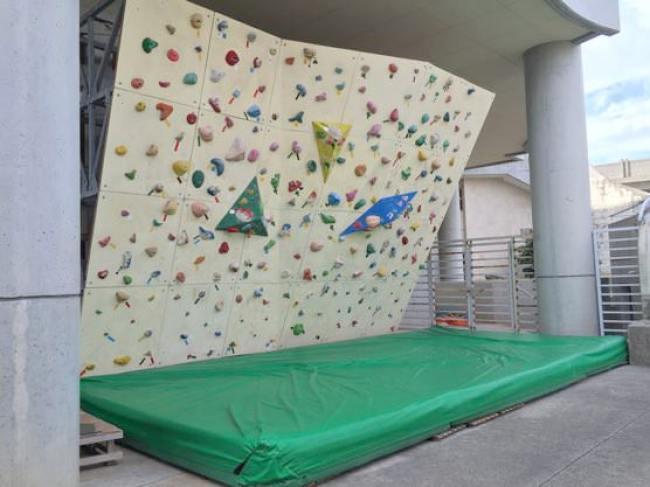 那覇奥武山公園のボルダリング場