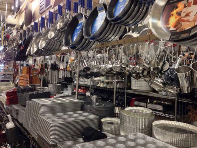 ニューヨーク業務用キッチン用品店「Chef Restaurant Supplies」