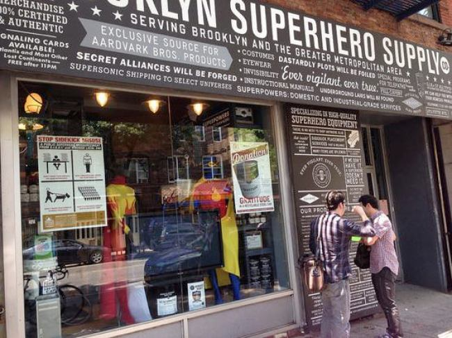 Brooklyn Superhero Supply外観