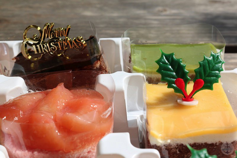 クリスマスケーキ EOS70D標準レンズで撮影