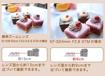 パンケーキレンズ「EF-S24mm F2.8 STM」の特徴