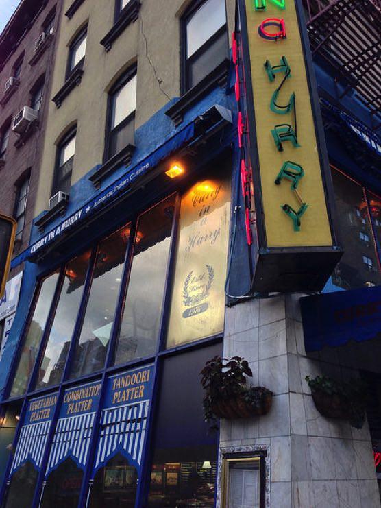 ニューヨーク インドカレー専門店「CURRY IN A HURRY」