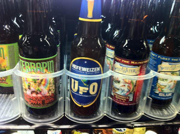 ホールフーズマーケットのビール専門店
