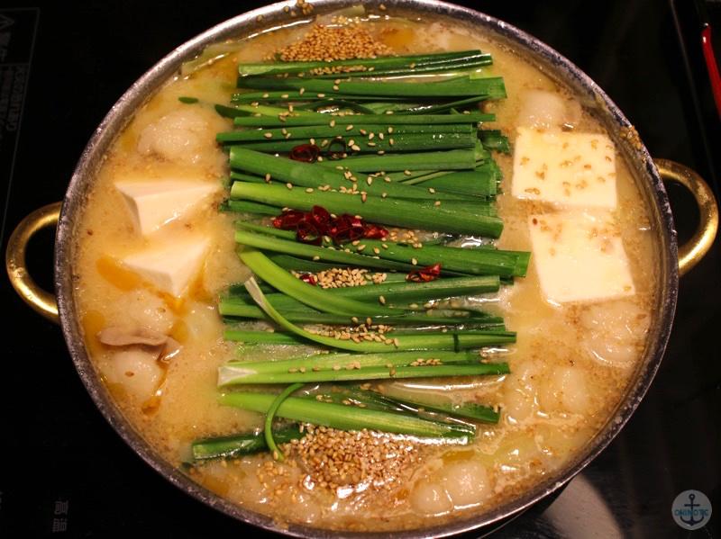 「一藤」のモツ鍋