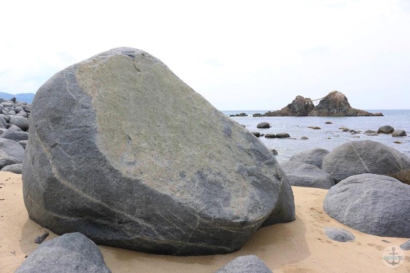 糸島市二見ヶ浦の夫婦岩