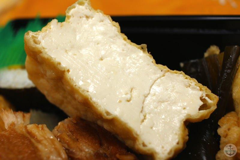 お供えセットの揚げ豆腐