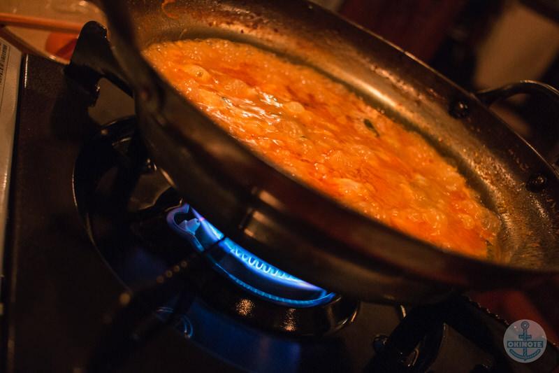 もつ鍋屋「リパロ」の韓国風もつ鍋シメの雑炊セット