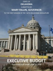 FY-2014 Fallin Budget Book Cover