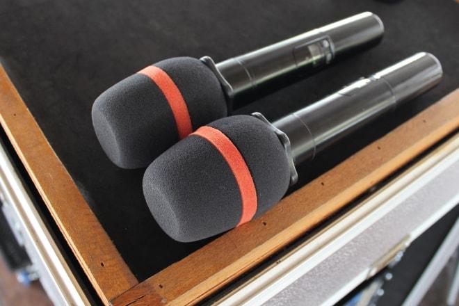 2階 音響システム マイク
