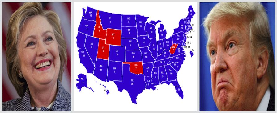 Electoral Maps Predict Trump Is Done!