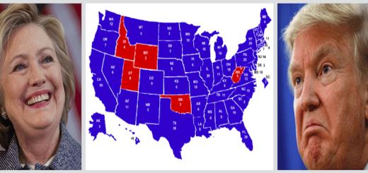 Electoral maps predict doom for Donald Trump