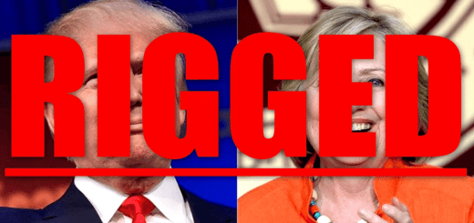 Donald Trump claims the election is rigged.