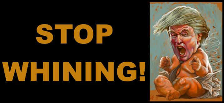 Stop Whining: Obama Tells Trump