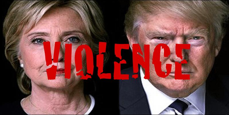 Violence, Death Threats Haunt 2016 Election