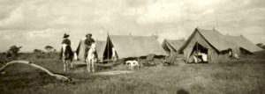 blog nicholls Schindler at campsite